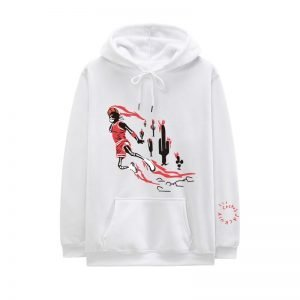 New Travis Scott Jordan Fleece Winter White Hoodie