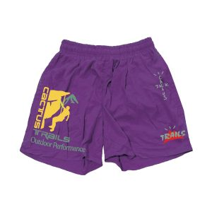Travis Scott Climb Purple Shorts