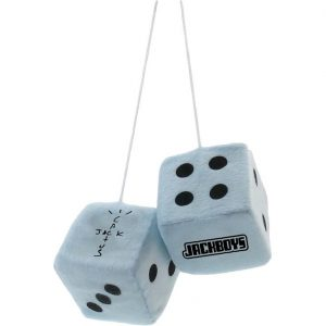 Travis Scott Jackboys Mirror Blue Dice