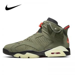 Travis Scott Nike Air Jordan 6 Men's Basketball Shoes