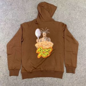 Travis Scott Reese's Puff Today Casual Pullover Hoodie (2)