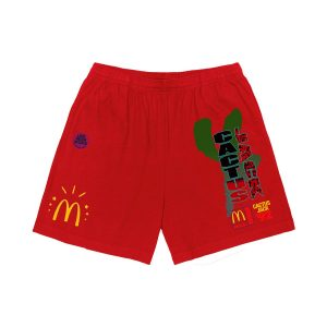 Travis Scott x McDonald's All American '92 Red Shorts