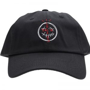Travis Scotts Cactus Jack Black Snapback Cap