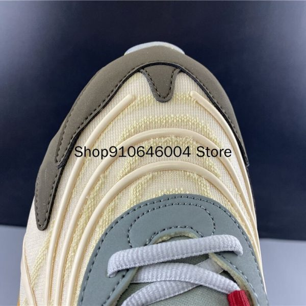 Travis Scotts x 270 Reacts Shock Absorption Beige Waves Running Shoes (5)